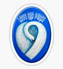 LOVE AND PEACE Sticker