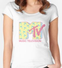 Summer MTV Women's Fitted Scoop T-Shirt