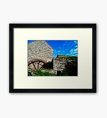 Corcgreggan's Mill, Donegal, Ireland Framed Print