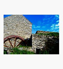 Corcgreggan's Mill, Donegal, Ireland Photographic Print