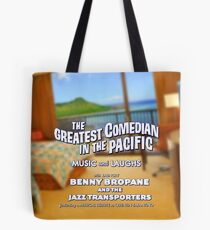 Benny Bropane Tote Bag