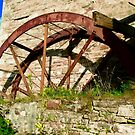 The Mill Wheel at Corcgreggan's Mill, Donegal, Ireland by Shulie1