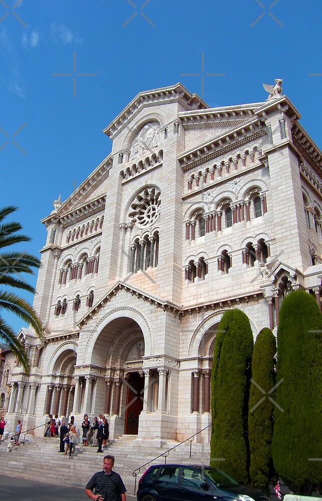 Monaco Cathedral by Tom Gomez
