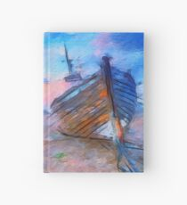 Ship on the Shore Hardcover Journal
