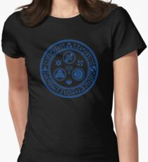 Hero's Mark (Blue) Womens Fitted T-Shirt