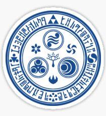 Hero's Mark (Blue) Sticker