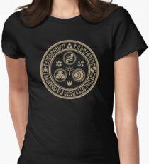 Hero's Marlk (Tan) Womens Fitted T-Shirt