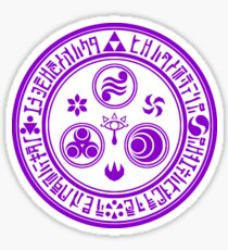 Hero's Mark (Violet) Sticker
