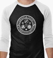 Hero's Mark (White) Men's Baseball ¾ T-Shirt