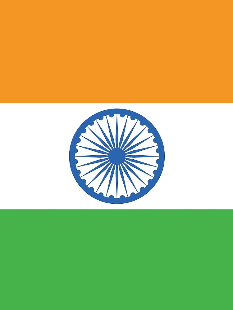 India Flag by designseventy