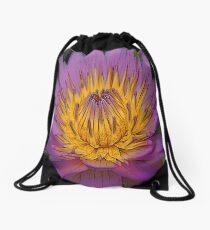 FloralFantasia 22 Drawstring Bag