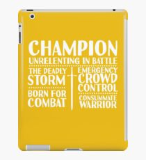 Champion - LoTRO iPad Case/Skin