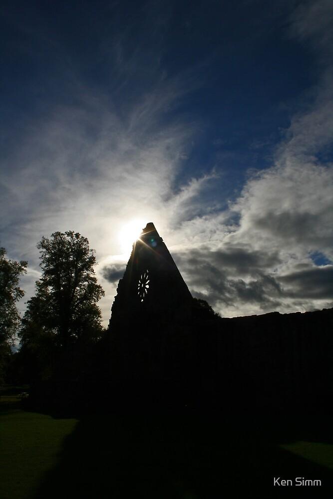 Dryburgh Abbey by Kenart