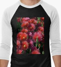 FloralFantasia 24 Men's Baseball ¾ T-Shirt