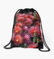 FloralFantasia 24 Drawstring Bag
