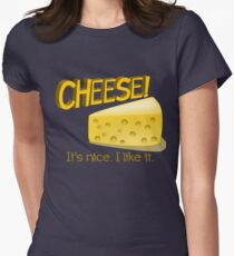 Cheese! Women's Fitted T-Shirt