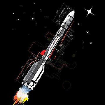 Proton Rocket by anproart