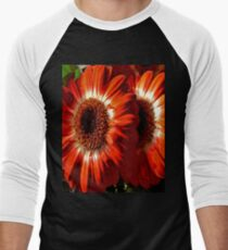 FloralFantasia 26 Men's Baseball ¾ T-Shirt