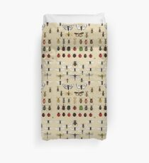 Entomology Insect studies collection  Duvet Cover