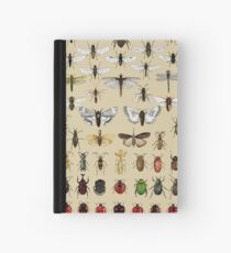 Entomology Insect studies collection  Hardcover Journal