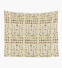 Entomology Insect studies collection  Wall Tapestry