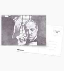 The Godfather - Don Corleone Postcards