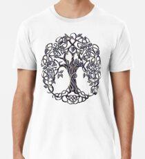 Camiseta premium Árbol de la vida de plata