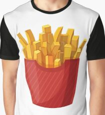 French Fries Graphic Graphic T-Shirt