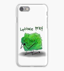 Lettuce Pray iPhone Case/Skin