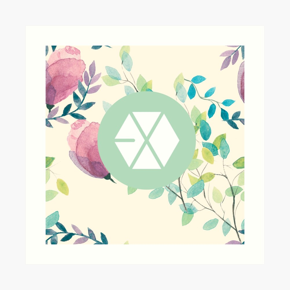 EXO Kunstdruck