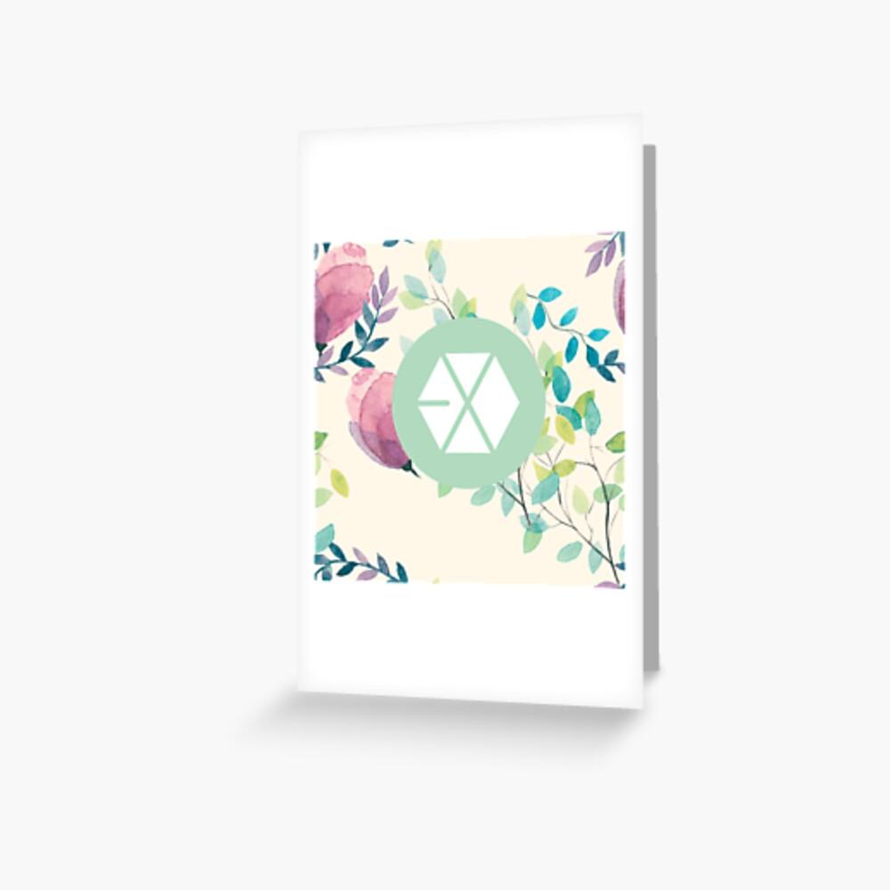 EXO Grußkarte