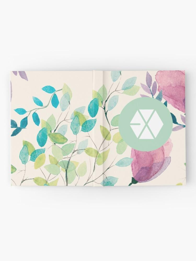 Alternative Ansicht von EXO Notizbuch
