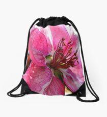FloralFantasia 30 Drawstring Bag