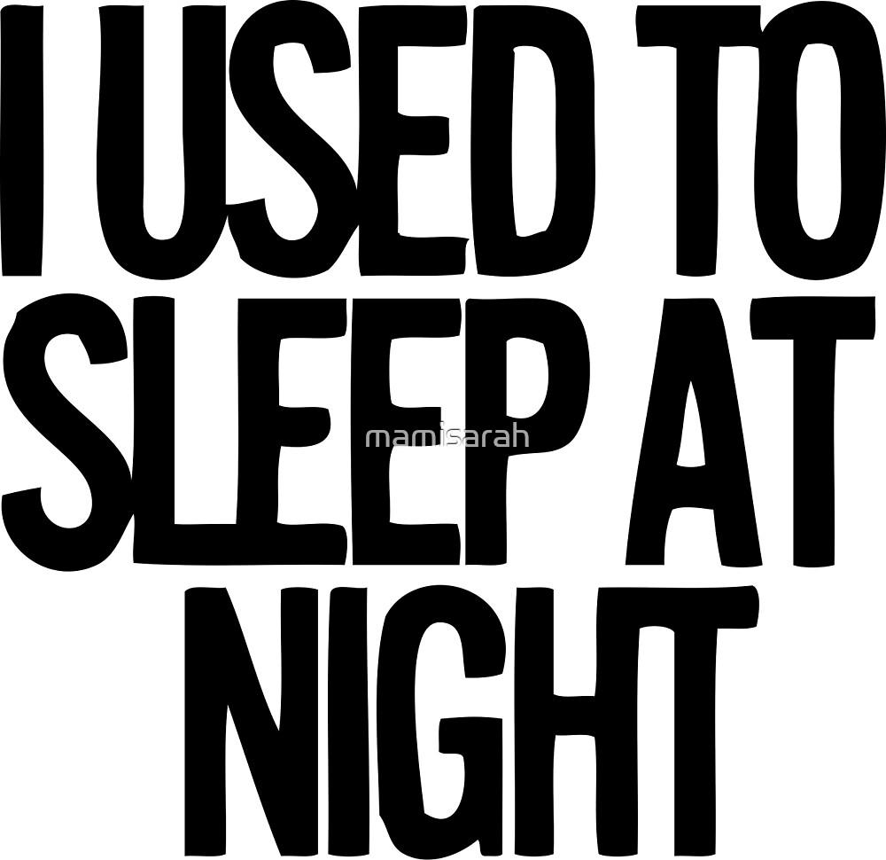 Sleepness  by mamisarah