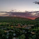 Alice Springs Sunset by Centralian Images