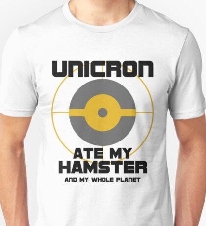Unicron Ate My Hamster T-Shirt