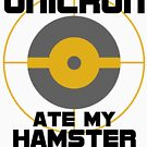 Unicron Ate My Hamster by HandDrawnTees