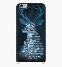 Throne of Glass - The Stag, the Lord of the North iPhone Case