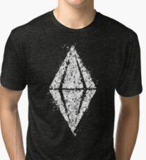 Camiseta de tejido mixto Sims