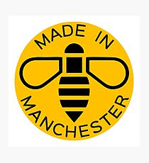 Made in Manchester Photographic Print