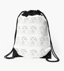 Baby Acacia  Drawstring Bag