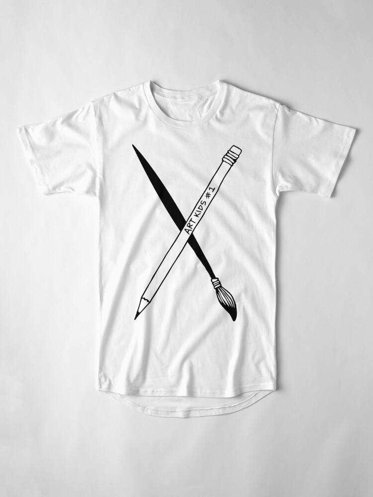 Alternate view of Art Kid's Weapons Long T-Shirt