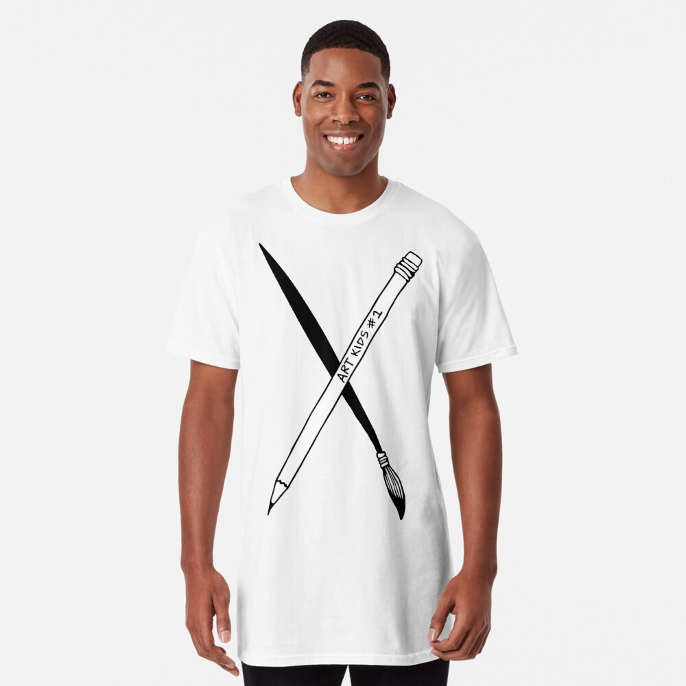 Art Kid's Weapons Long T-Shirt