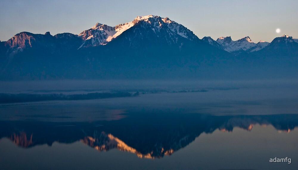 A reflection of Switzerland by adamfg