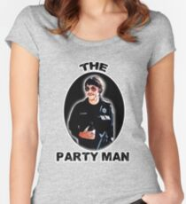 the Party Man Fitted Scoop T-Shirt