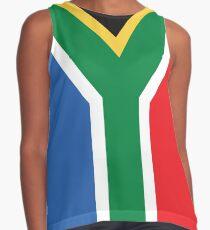 Blusa sin mangas Bandera sudafricana