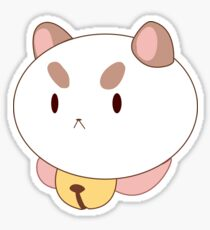 Puppycat Face Sticker