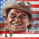 Ronald Reagan by JohnDSmith