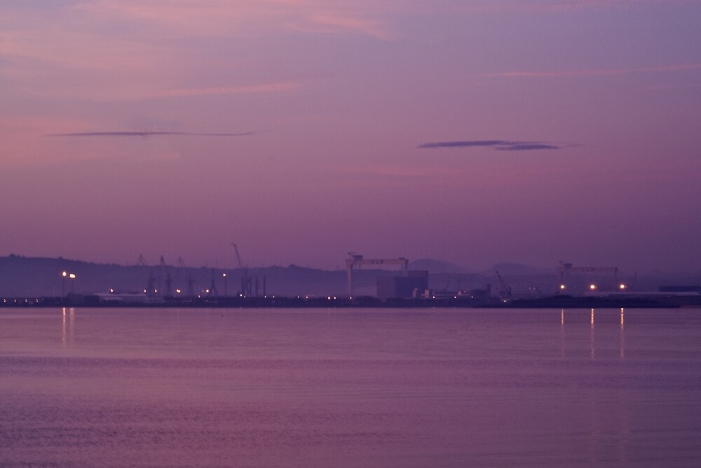 Belfast Harbour by Michael Jordan