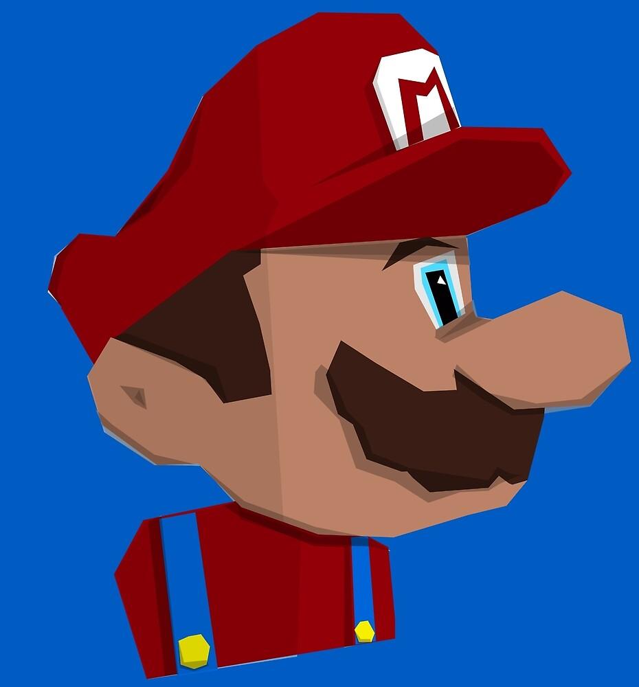 Jumpman Mario by iamtheshirt